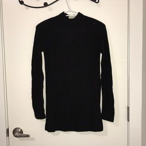 Wilfred sweater high neck with open back